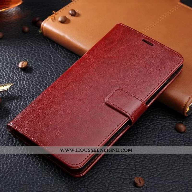 Étui Huawei Y7 2020 Protection Ornements Suspendus Housse Cuir 2020 Business Téléphone Portable Marr