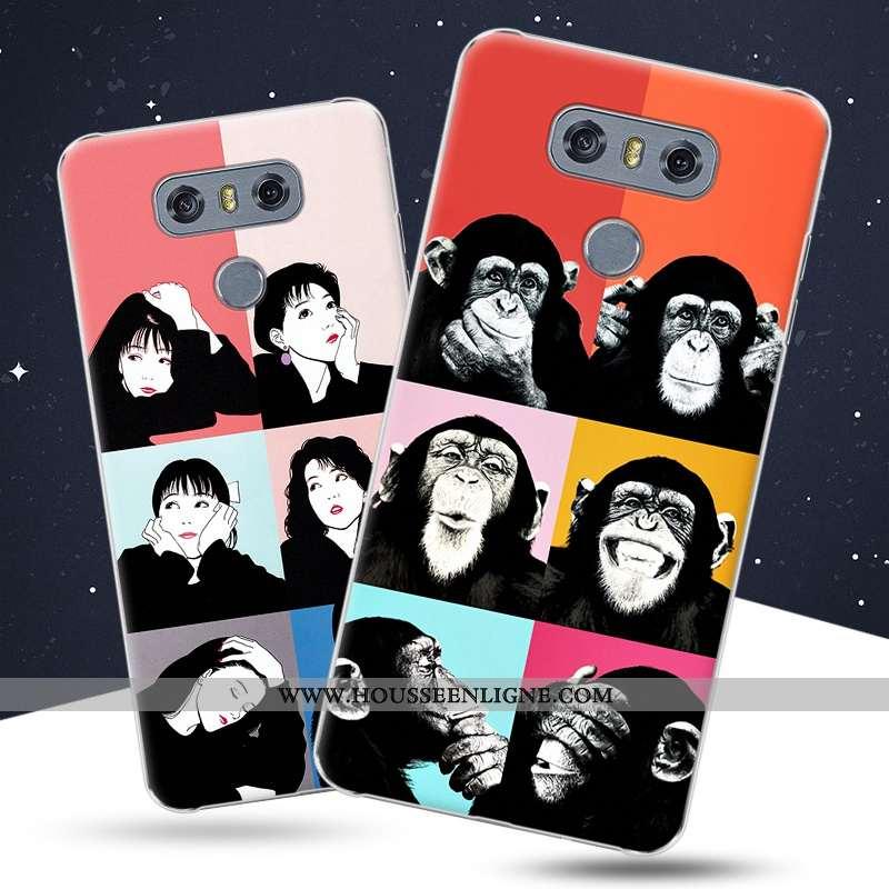Étui Lg G6 Protection Créatif Coque Téléphone Portable Amoureux Rouge Difficile