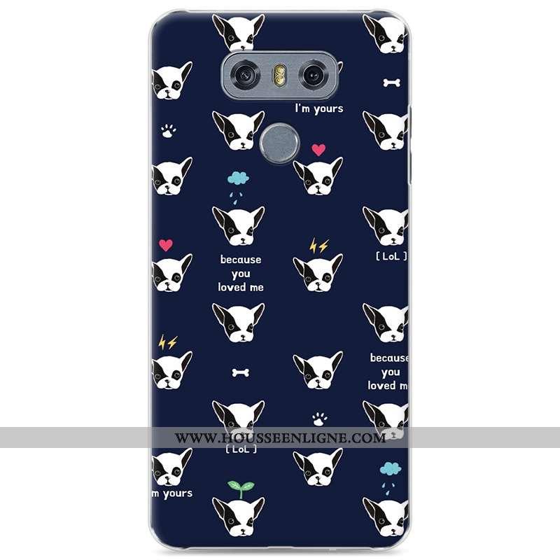 Étui Lg G6 Tendance Protection Difficile Coque Téléphone Portable Bleu Marin Bleu Foncé
