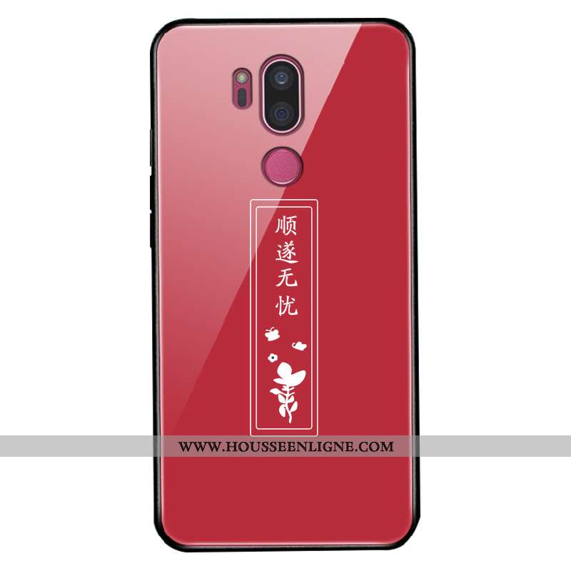 Étui Lg G7 Thinq Personnalité Créatif Dessin Animé Incassable Protection Coque Téléphone Portable Ro