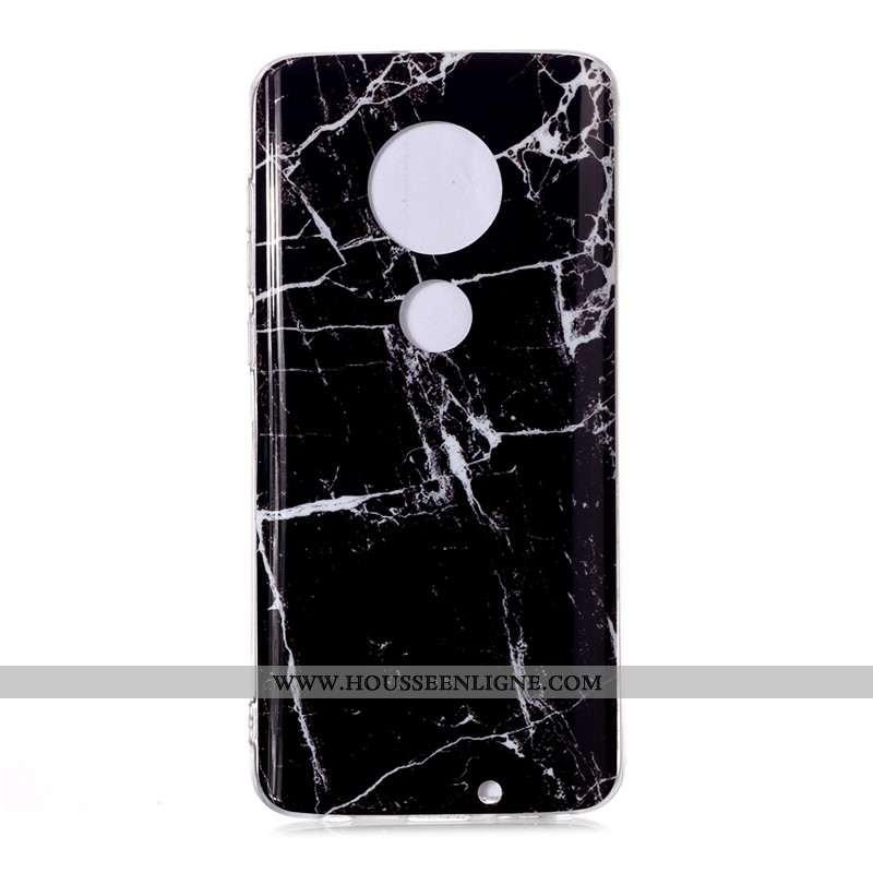 Étui Moto G7 Mode Vent Grand Coque Europe Téléphone Portable Noir