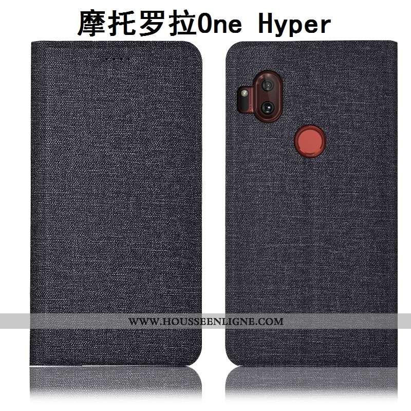 Étui Motorola One Hyper Protection Téléphone Portable Tout Compris Matelassé Coque Housse Incassable