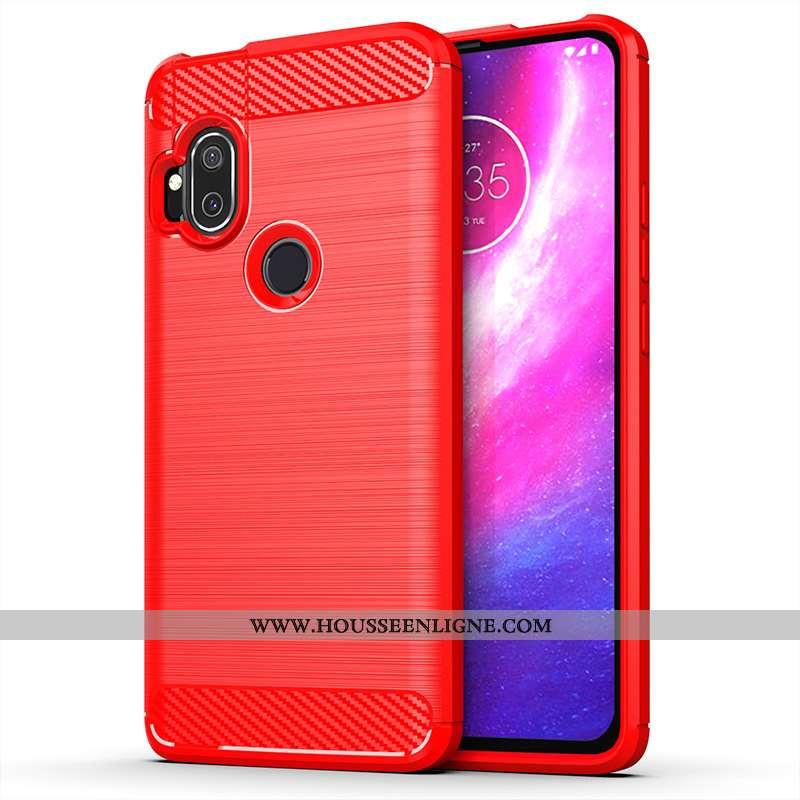 Étui Motorola One Hyper Rouge Téléphone Portable Coque