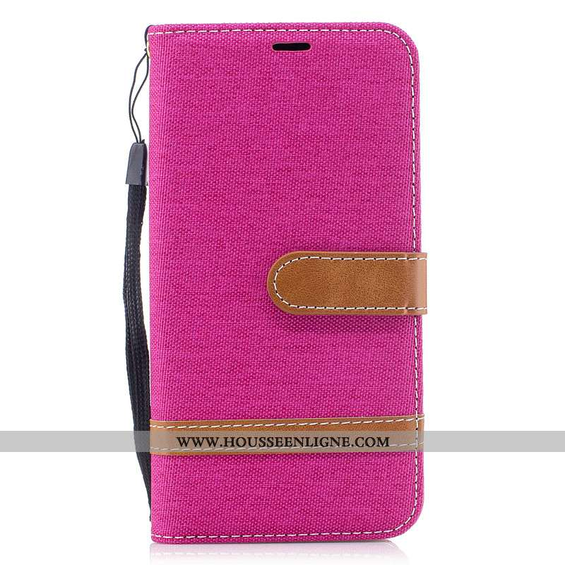 Étui Nokia 2.3 Tendance Cuir Housse Créatif Protection Téléphone Portable Rouge Rose