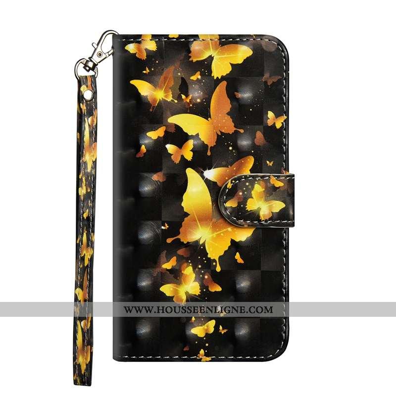 Étui Nokia 3.2 Cuir Fluide Doux Silicone Or Personnalité Clamshell Incassable Doré