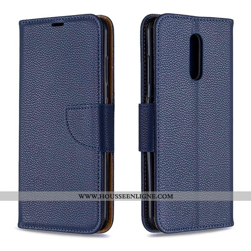 Étui Nokia 3.2 Portefeuille Cuir Nouveau Bleu Téléphone Portable Tout Compris Housse