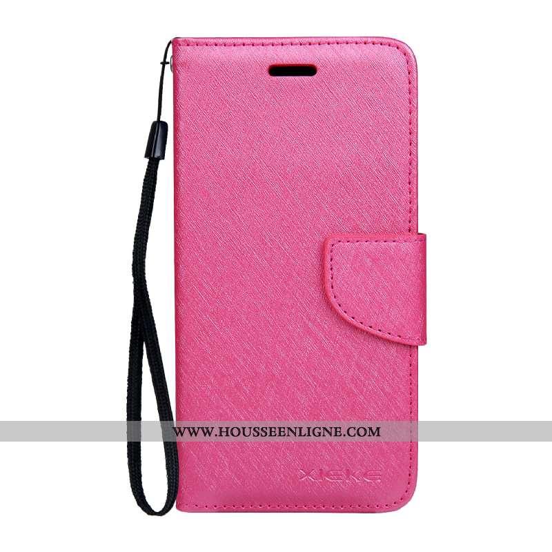 Étui Nokia 4.2 Modèle Fleurie Protection Soie Mulberry Cuir Housse Mois Rose