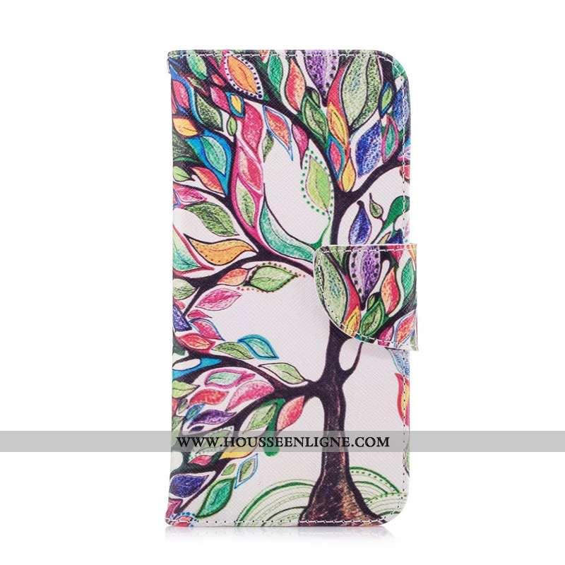Étui Nokia 5.1 Dessin Animé Cuir Protection Téléphone Portable Multicolore Peinture Coloré