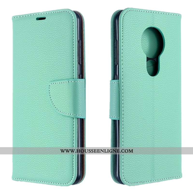 Étui Nokia 6.2 Mode Protection Vert Simple Tendance Carte Coque Verte
