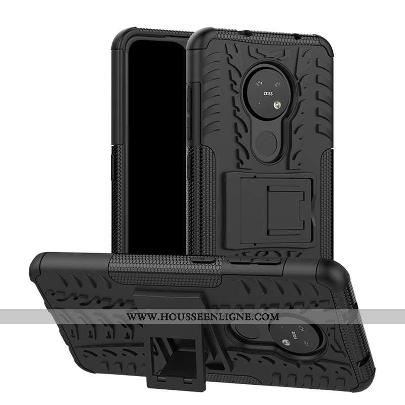 Étui Nokia 6.2 Protection Incassable Téléphone Portable Noir Coque Difficile