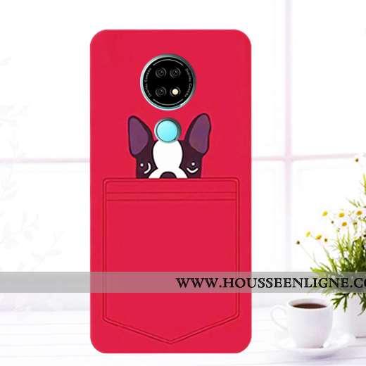 Étui Nokia 6.2 Protection Téléphone Portable Incassable Rouge Coque