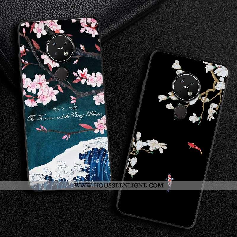 Étui Nokia 7.2 Protection Créatif Incassable Vent Noir Mode