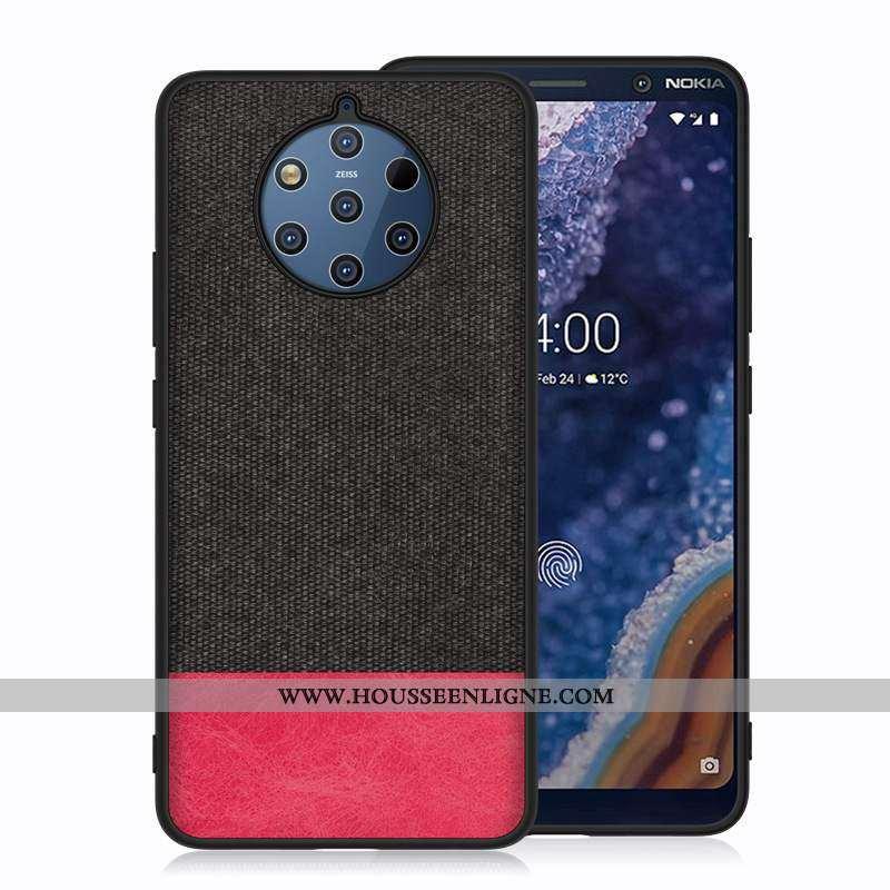 Étui Nokia 9 Pureview Protection Difficile Coque Téléphone Portable Noir