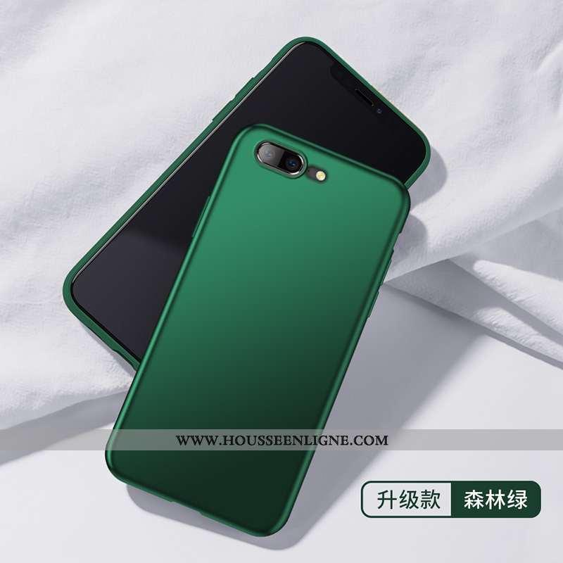 Étui Oneplus 5 Tendance Légère Protection Silicone Coque Vert Simple Verte