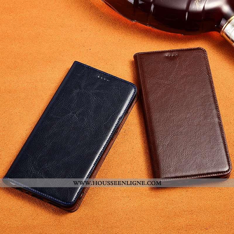 Étui Oneplus 7t Fluide Doux Silicone Protection Téléphone Portable Cuir Véritable Incassable Coque M