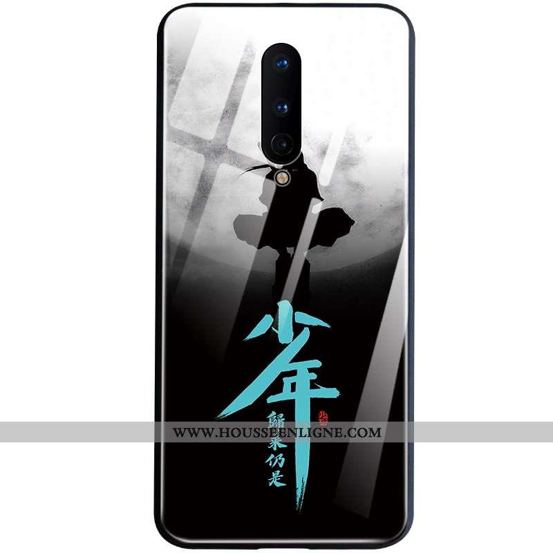 Étui Oneplus 8 Créatif Ultra Personnalité Bordure Téléphone Portable Légère Noir