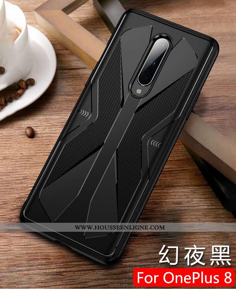 Étui Oneplus 8 Créatif Ultra Téléphone Portable Légère Protection Tout Compris Personnalité Noir