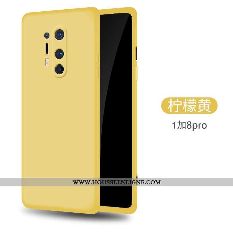 Étui Oneplus 8 Pro Ultra Tendance Incassable Coque En Silicone Fluide Doux Téléphone Portable Tout C