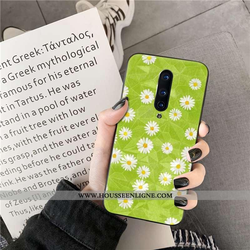 Étui Oneplus 8 Vert Coque Téléphone Portable Losange Verte