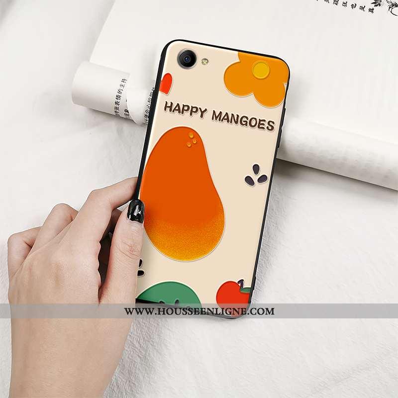Étui Oppo A3 Tendance Fluide Doux Coque Fruit Personnalité Tout Compris Orange
