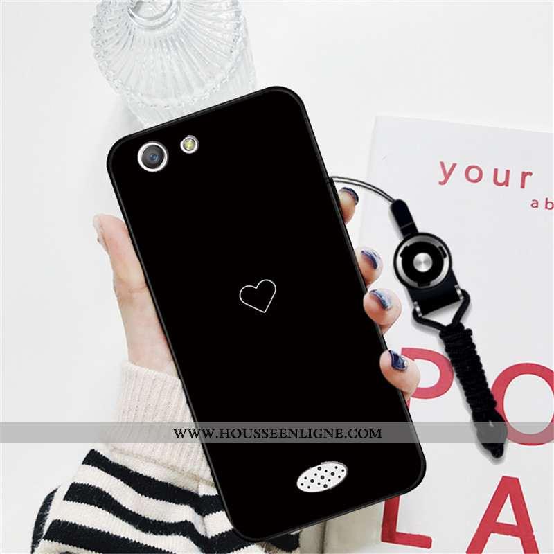 Étui Oppo A31 Personnalité Dessin Animé Téléphone Portable Protection Amoureux Coque Noir