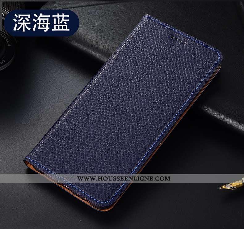 Étui Oppo A5 2020 Modèle Fleurie Protection Coque Téléphone Portable Housse Mesh Tout Compris Bleu F