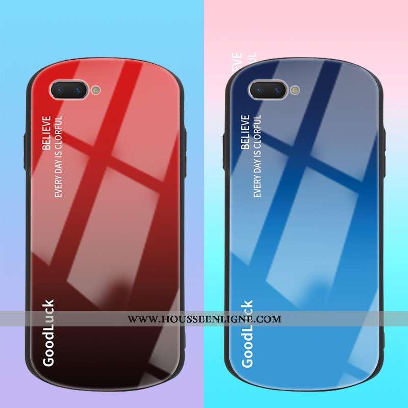 Étui Oppo A5 Ultra Légère Téléphone Portable Rond Personnalité Vent Tout Compris Rouge