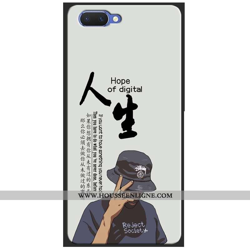 Étui Oppo Ax5 Protection Tendance Fluide Doux Téléphone Portable Incassable Coque Beige