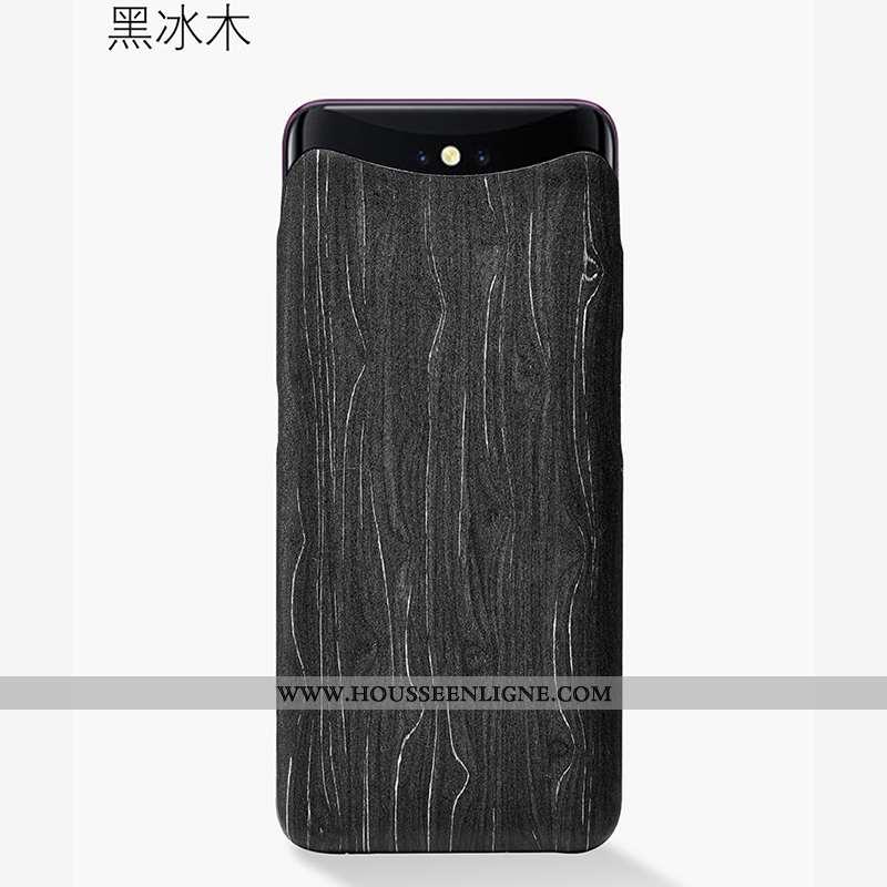 Étui Oppo Find X Légère Protection Ultra Sentir Téléphone Portable Coque Noir