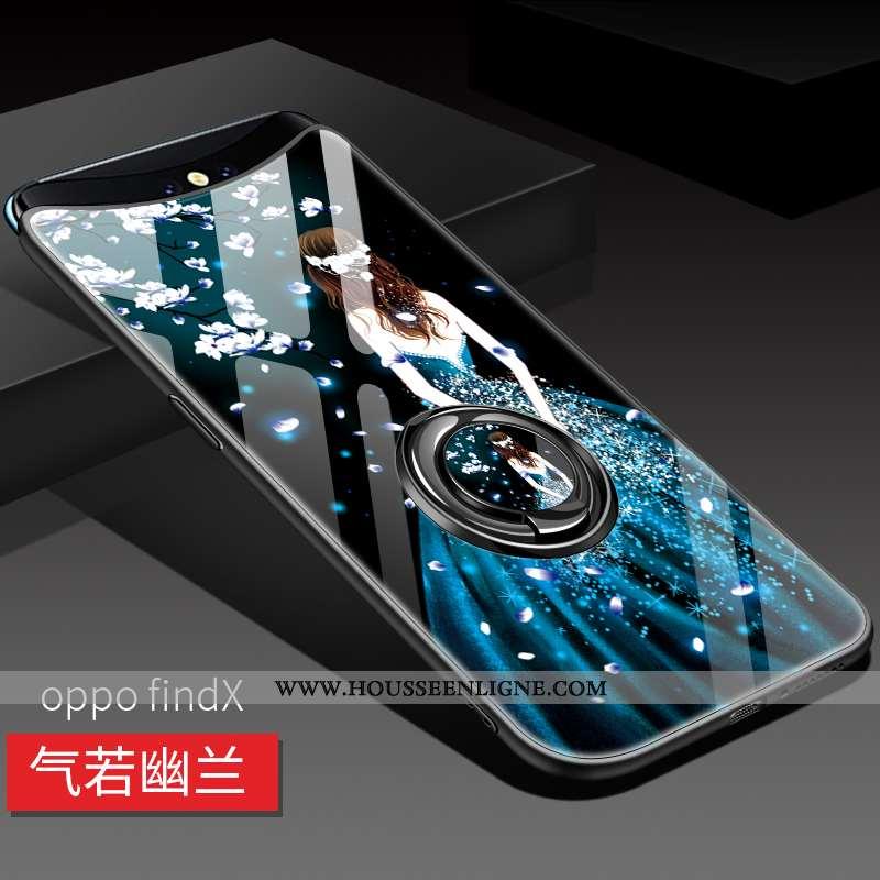 Étui Oppo Find X Ultra Tendance Bleu Légère Téléphone Portable Incassable Coque
