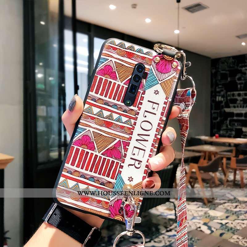 Étui Oppo Reno 10x Zoom Ornements Suspendus Fluide Doux Support Téléphone Portable Haute Ethnique Ro