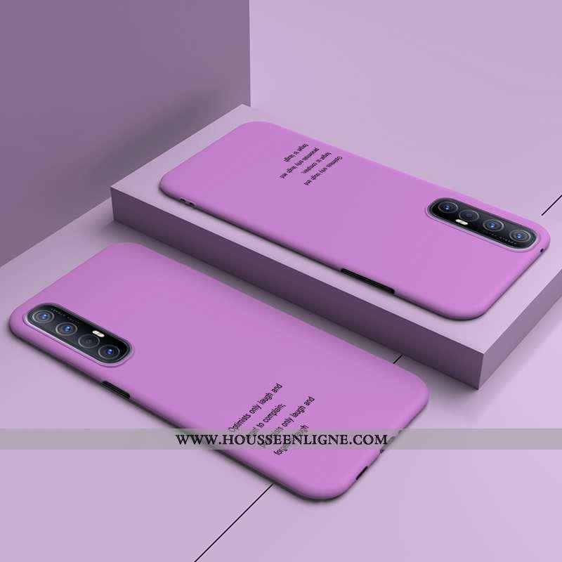 Étui Oppo Reno 3 Pro Personnalité Original Bordure Protection Légère Difficile Téléphone Portable Vi