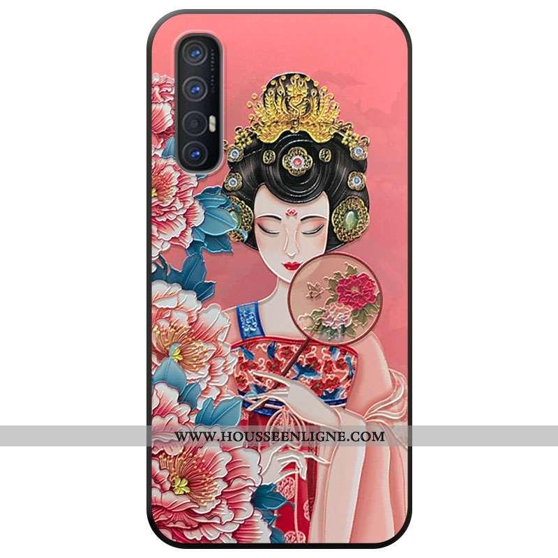 Étui Oppo Reno 3 Pro Protection Téléphone Portable Vent Nouveau Rose Coque