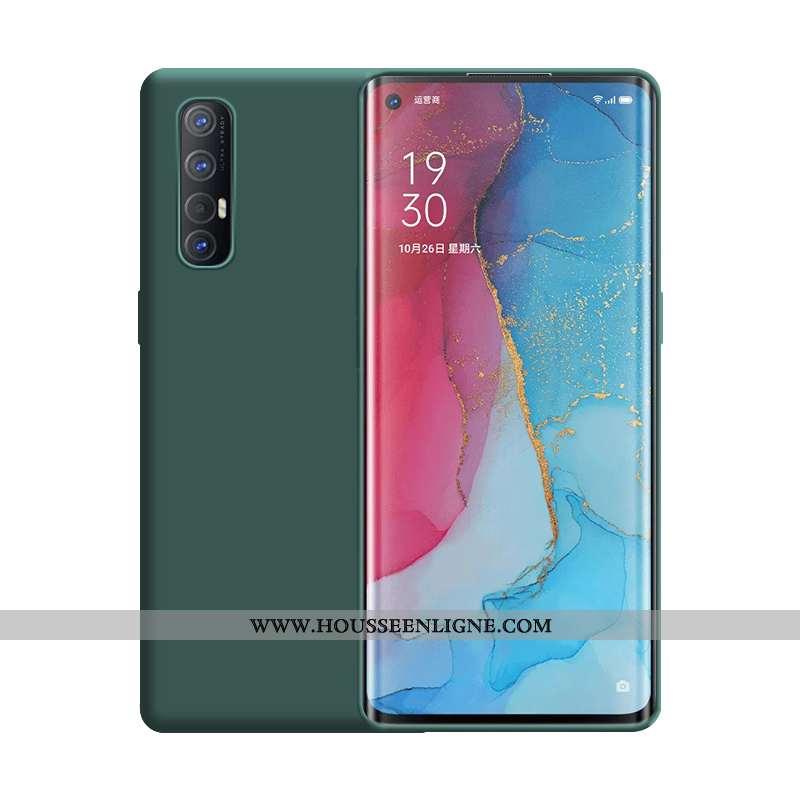 Étui Oppo Reno 3 Pro Ultra Légère Incassable Téléphone Portable Vert Nouveau Verte