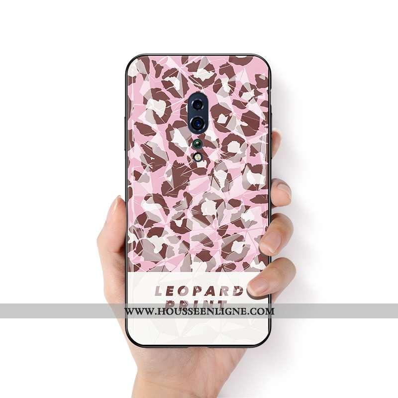 Étui Oppo Reno Z Ornements Suspendus Personnalité Léopard Téléphone Portable Créatif Protection Sili