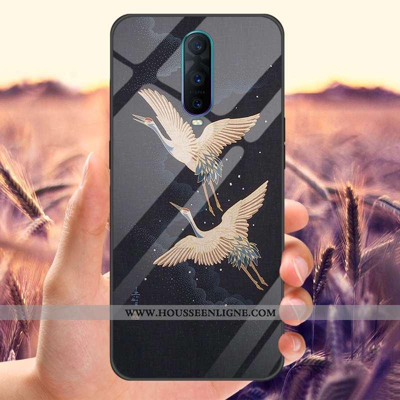 Étui Oppo Rx17 Pro Personnalité Protection Téléphone Portable Tout Compris Noir Tempérer Miroir