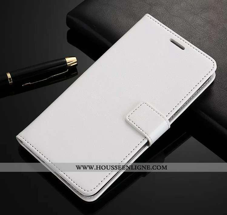 Étui Oppo Rx17 Pro Protection Portefeuille Cuir Fluide Doux Téléphone Portable Housse Incassable Bla