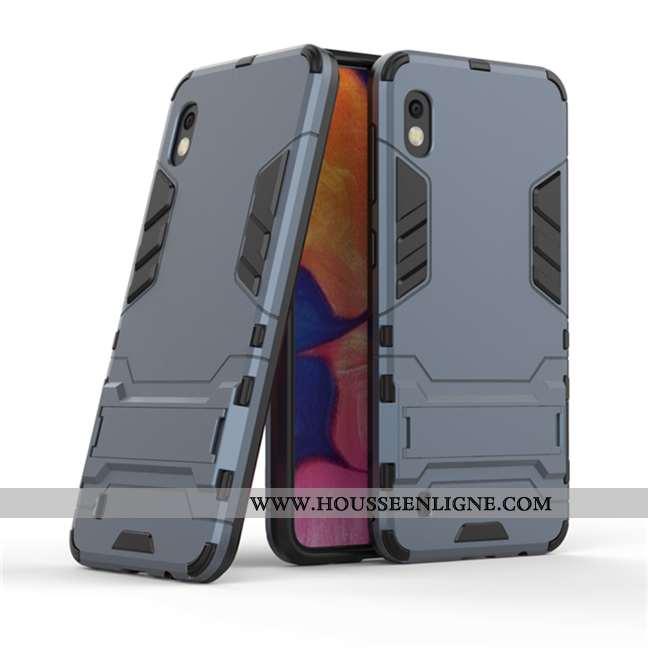 Étui Samsung Galaxy A10 Protection Personnalité Difficile Coque Armure Incassable Gris