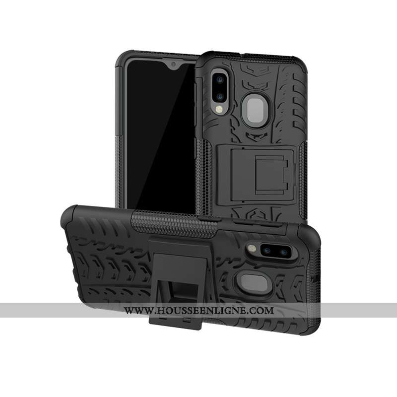 Étui Samsung Galaxy A20e Créatif Modèle Fleurie Étoile Fluide Doux Protection Téléphone Portable Noi