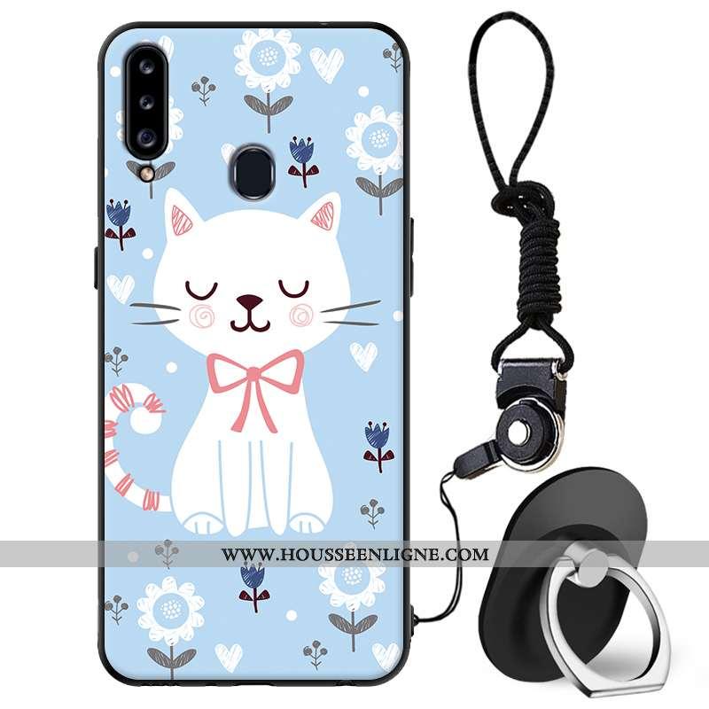 Étui Samsung Galaxy A20s Fluide Doux Silicone Protection Téléphone Portable Coque Tout Compris Dessi