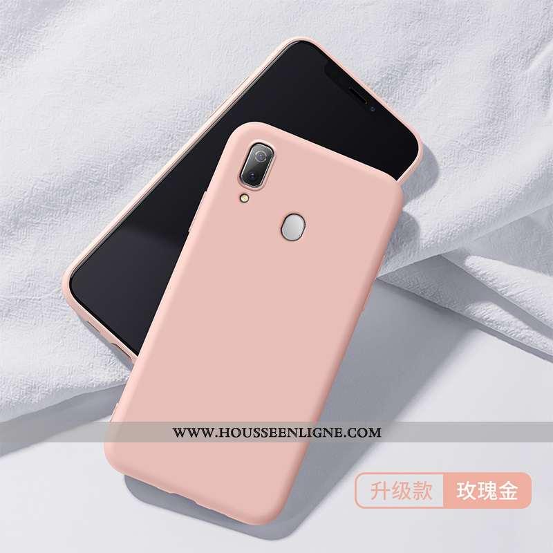 Étui Samsung Galaxy A40 Créatif Ultra Coque Protection Tout Compris Téléphone Portable Rose