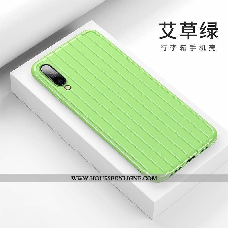 Étui Samsung Galaxy A50 Créatif Tendance Silicone Étoile Fluide Doux Personnalité Verte