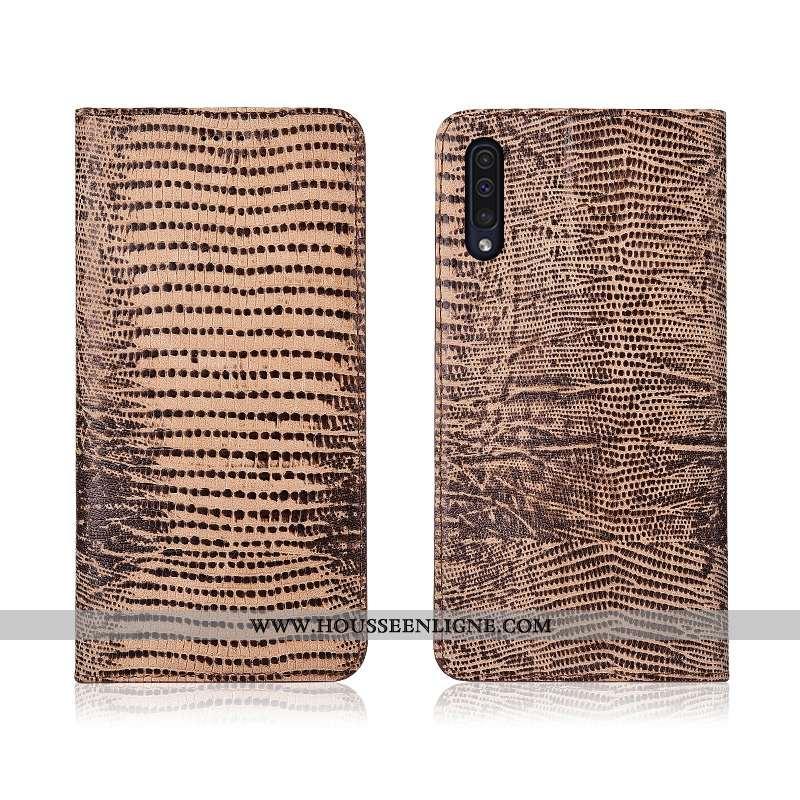 Étui Samsung Galaxy A50 Protection Délavé En Daim Nouveau Tout Compris Incassable Fluide Doux Téléph