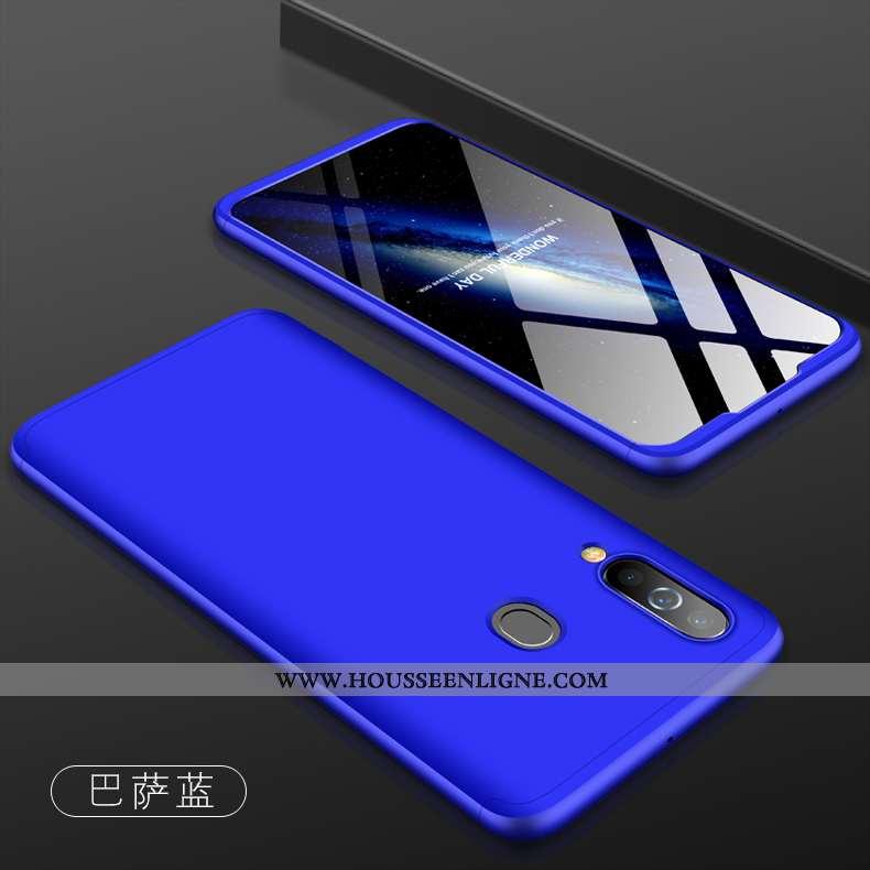Étui Samsung Galaxy A60 Modèle Fleurie Silicone Nouveau Légère Étoile Créatif Bleu