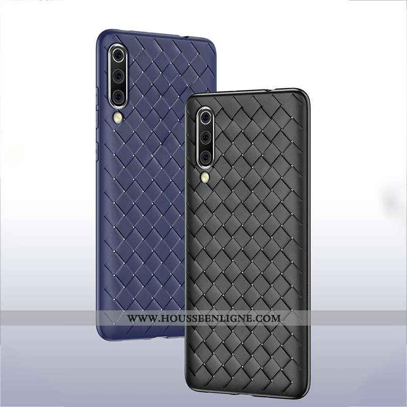 Étui Samsung Galaxy A70 Modèle Fleurie Fluide Doux Tendance Simple Tout Compris Couvercle Arrière In
