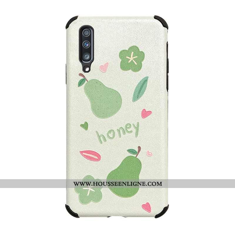 Étui Samsung Galaxy A70s Protection Personnalité Dessin Animé Téléphone Portable Étoile Blanc Net Ro
