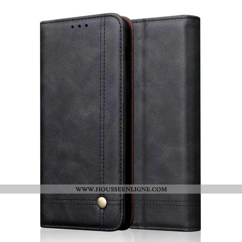 Étui Samsung Galaxy A71 Cuir Véritable Cuir Une Agrafe Téléphone Portable Fluide Doux Coque Étoile N