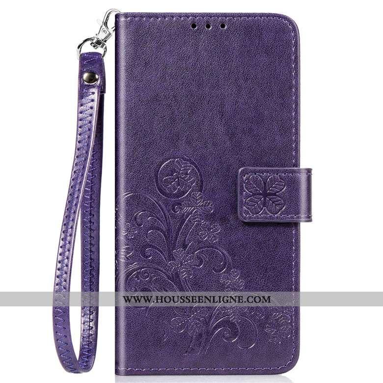 Étui Samsung Galaxy A71 Silicone Protection Coque Étoile Cuir Téléphone Portable Violet