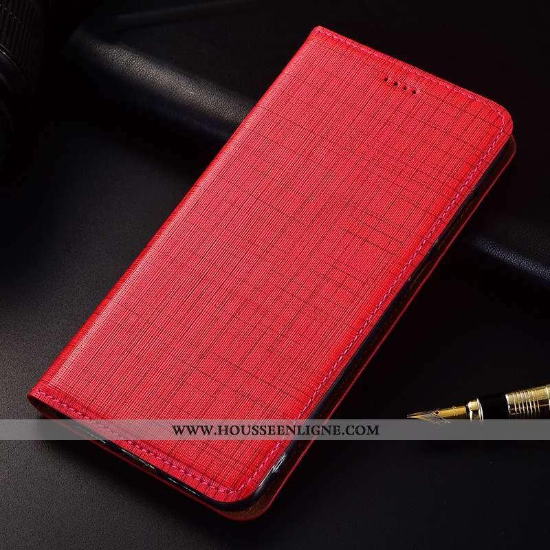 Étui Samsung Galaxy A80 Protection Silicone Incassable Rouge Étoile Téléphone Portable