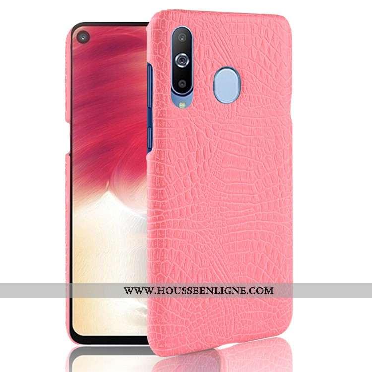 Étui Samsung Galaxy A8s Modèle Fleurie Business Téléphone Portable Étoile Rose Incassable